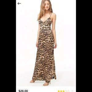 ✨🎉💕HP💕🎉✨ NWT  forever 21 CHEETAH DRESS